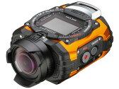 リコー ビデオカメラ RICOH WG-M1 [オレンジ] [タイプ:アクションカメラ ハイビジョン対応:フルハイビジョン 撮影時間:150分 本体重量:151g 撮像素子:CMOS 1/2.3型] 【楽天】【激安】 【格安】 【特価】 【人気】 【売れ筋】【価格】