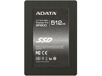 ADATA SSD ASP900S3-512GM-C[容量:512GB規格尺寸:2.5英寸接口:Serial ATA 6Gb/s型:同時期型MLC]