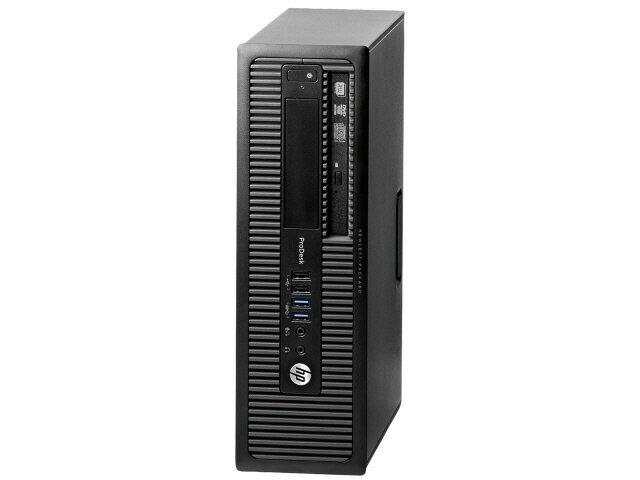【ポイント5倍】HP デスクトップパソコン ProDesk 600 G1 SF J4K81PT#ABJ [CPU種類:Core i3 4160(...