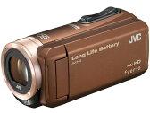 【ポイント5倍】JVC ビデオカメラ Everio GZ-F100-T [ブラウン] [タイプ:ハンディカメラ ハイビジョン対応:フルハイビジョン 撮影時間:310分 本体重量:286g 撮像素子:CMOS 1/5.8型 動画有効画素数:229万画素]