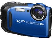 【ポイント5倍】富士フイルム デジタルカメラ FinePix XP80 [ブルー] [画素数:1676万画素(総画素)/1640万画素(有効画素) 光学ズーム:5倍 撮影枚数:210枚 防水カメラ:○ 備考:防水:IPX8準拠/防塵機能:IP6X準拠/耐衝撃/耐低温/顔キレイナビ]