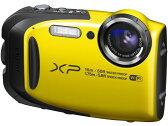 富士フイルム デジタルカメラ FinePix XP80 [イエロー] [画素数:1676万画素(総画素)/1640万画素(有効画素) 光学ズーム:5倍 撮影枚数:210枚 防水カメラ:○ 備考:防水:IPX8準拠/防塵機能:IP6X準拠/耐衝撃/耐低温/顔キレイナビ]