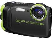 富士フイルム デジタルカメラ FinePix XP80 [ブラック] [画素数:1676万画素(総画素)/1640万画素(有効画素) 光学ズーム:5倍 撮影枚数:210枚 防水カメラ:○ 備考:防水:IPX8準拠/防塵機能:IP6X準拠/耐衝撃/耐低温/顔キレイナビ]