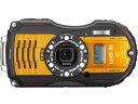 リコー デジタルカメラ RICOH WG-5 GPS [オレンジ] [画素数:1600万画素(有効画素) 光学ズーム:4倍 撮影枚数:240枚 防水カメラ:○ 備..