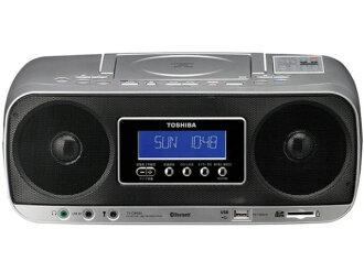 東芝收錄機 TY CWX81 [最大輸出功率: 5 W 類型: CD 收音機寬度 x 高度 x 回: 370 × 152x207mm 重量: 2.4 公斤]