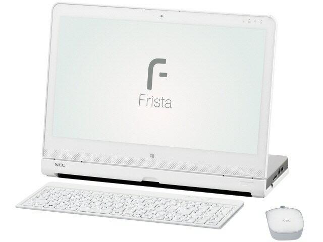 【ポイント5倍】NEC デスクトップパソコン LAVIE Hybrid Frista HF150/BAW PC-HF150BAW [ピュアホ...