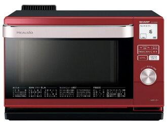 鋒利的電烤箱 herushio AX-CA200-R,[紅色系列] [類型: 電子烤箱烤箱容量: 18 L 最大範圍輸出: 1000 W]