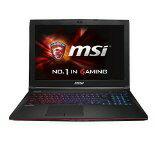 MSI ノートパソコン GE62 2QL-437JP [液晶サイズ:15.6インチ CPU:Core i7 5700HQ(Broadwell)/2.7...