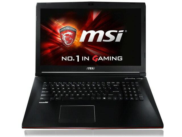 【ポイント5倍】MSI ノートパソコン GP72 2QE-033JP [液晶サイズ:17.3インチ CPU:Core i7 5700HQ...