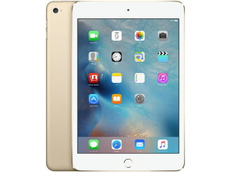 蘋果平板電腦 (電話)、 掌上型電腦 iPad mini 4 Wi-Fi 模型 128 GB MK9Q2J/A [金] [類型: 平板電腦的作業系統類型: IOS 9 萬圖元臉大小: 7.9 英寸 CPU:Apple A8 記憶體容量: 128 GB]