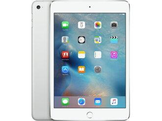 蘋果平板電腦 (電話)、 掌上型電腦 iPad mini 4 Wi-Fi 模型 128 GB MK9P2J/A [銀] [類型︰ 平板電腦的作業系統類型︰ IOS 9 萬圖元臉大小︰ 7.9 英寸 CPU:Apple A8 記憶體容量︰ 128 GB]