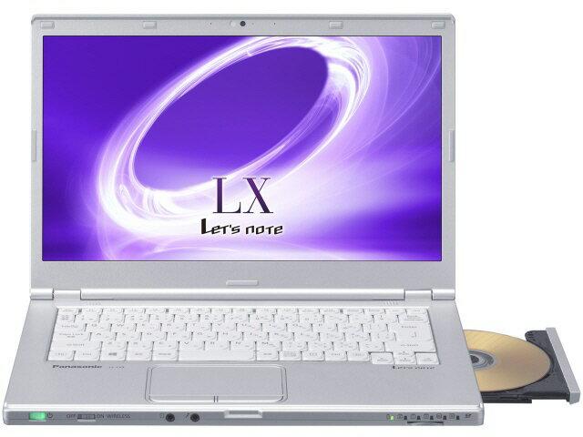 【ポイント5倍】パナソニック ノートパソコン Let's note LX5 CF-LX5YMKVS [液晶サイズ:14インチ ...