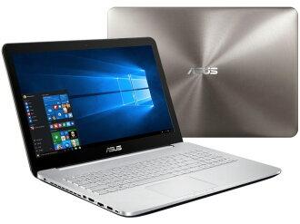 ASUS筆記型電腦N552VX N552VX-FI135T[液晶尺寸:15.6英寸CPU:Core i7 6700HQ(Skylake)/2.6GHz/4核心CPU得分:8086 SSD容量:256GB存儲空間:16GB OS:Windows 10 Home 64bit]