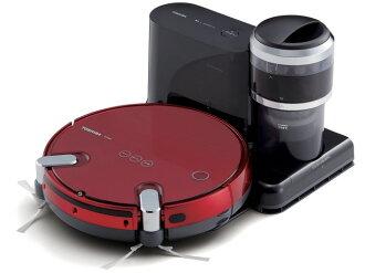 機器人機械競技東芝清洗 VC-RVS2 (R) [大紅色] [類型︰ 機器人塵卷︰ 0.2 L]