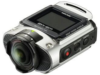 理光攝像機RICOH WG-M2[銀子][類型:行動照相機攝影時間:80分本體重量:114g攝像元件:CMOS 1/2.3 CMOS 1/2.3型]