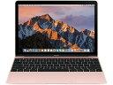 【ポイント5倍】APPLE Mac ノート MacBook 1100/12 MMGL2J/A [ローズゴールド] [液晶サイズ:12インチ CPU:Core m3/1.1GHz/2コア スト..