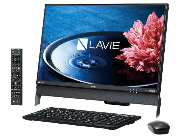NEC デスクトップパソコン LAVIE Desk All-in-one DA370/EAB PC-DA370EAB [ファインブラック] [画面サイズ:23.8インチ CPU種類:Celeron Dual-Core 3855U(Skylake) メモリ容量:4GB HDD容量:1TB OS:Windows 10 Home 64bit]
