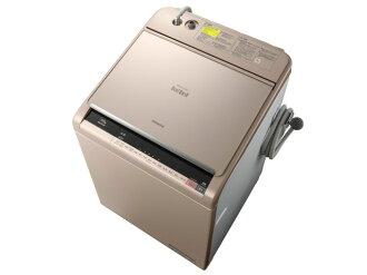 日立洗衣機位洗 BW DX 110A(N) [香檳] [風格清洗機、 洗衣機乾衣機開放和關閉類型︰ 頂級洗滌能力︰ 11 公斤乾燥能力︰ 6 公斤]
