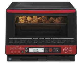 日立電子烤箱健康廚師 MRO SS8 (R) [紅色] [類型︰ 電子烤箱烤箱容量︰ 31 L 最大的微波輸出功率︰ 1000 W]