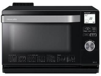 鋒利的電烤箱 herushio AX-CA300-B [黑色系統] [類型︰ 電子烤箱烤箱容量︰ 18 L 最大的微波輸出功率︰ 1000 W]