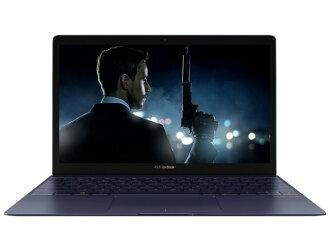ASUS筆記型電腦ZenBook 3 UX390UA UX390UA-256G[液晶尺寸:12.5英寸CPU:Core i5 7200U(Kaby Lake]/2.5GHz/2核心CPU得分:4707 SSD容量:256GB存儲空間:8GB OS:Windows 10 Home 64bit]