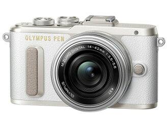 奧林巴斯數碼單反相機奧林巴斯筆 E PL8 14-42mm 鏡頭套件 EZ [白色] [樂天] [銷售] [便宜] [價格] [歡迎] [新] [價格]