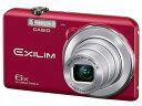 【ポイント5倍】カシオ デジタルカメラ EXILIM EX-ZS29RD [レッド] [画素数:1657万画素(総画素)/1610万画素(有...