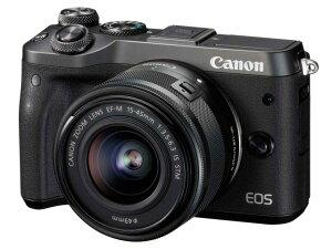 CANON デジタル一眼カメラ EOS M6 EF-M15-45 IS STM