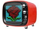【キャッシュレス 5% 還元】 【ポイント5倍】Divoom Bluetoothスピーカー TIVOO DIV-TIVOO-RD [レッド] [Bluetooth:○ 駆動時間:音楽再生時間:約8時間] 【楽天】 【人気】 【売れ筋】【価格】