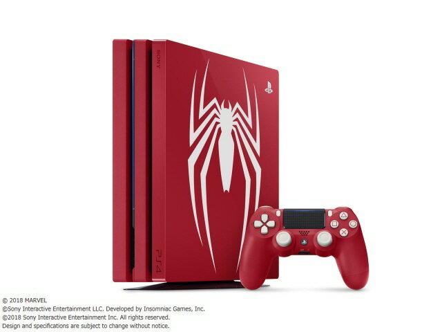 SONY ゲーム機 プレイステーション4 Pro Marvel's Spider-Man Limited Edition CUHJ-10027 [1TB] 【楽天】 【人気】 【売れ筋】【価格】【半端ないって】