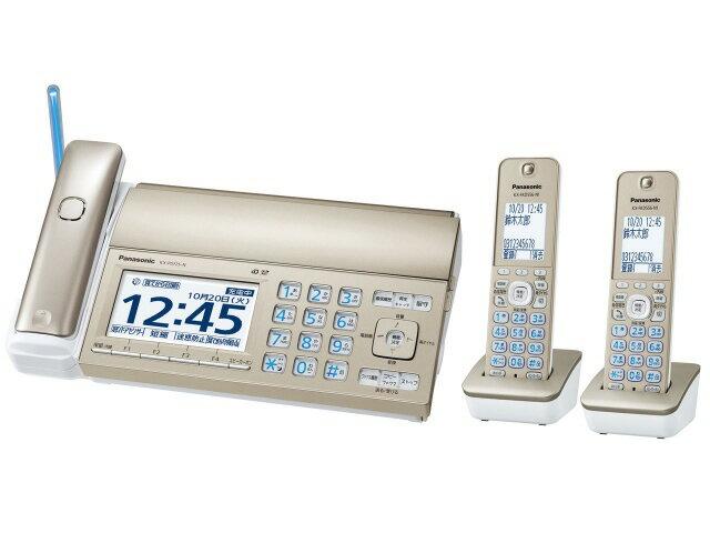 パナソニック 電話機 おたっくす KX-PD725DW-N [シャンパンゴールド] [親機質量:2500g スキャナタイプ:本体 その他機能:コピー機能/ペーパーレス機能/SDメモリーカード対応/DECT準拠方式 電話機能:○] 【楽天】 【人気】 【売れ筋】【価格】