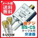 【エントリーでポイント10倍!10/29 9:59まで】S-UVSW 日本アンテナ 分波器 メール便送料無料