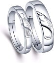 ショッピングカップル ペアリング 2個セット フリーサイズ シルバー 指輪 婚約指輪 結婚指輪 彼女 彼氏 レディース メンズ カップル 誕生日プレゼント 記念日(H)