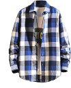 ショッピングギンガムチェック チェックシャツ ネルシャツ チェック柄シャツ ギンガムチェック 長袖 トップス カットソー メンズファッション ファッションメンズ ファッションメンズシャツ しゃつ シャツブラウス カジュアルシャツ 大きいサイズ ゆったり(タイプ2, XL)