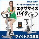 軽量コンパクト エクササイズバイク エアロバイク SE1211【フィットネスバイク/ダイエット/運動...