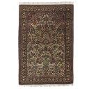 マラゲ産 ペルシャ絨毯 シルク 151.5x104.5cm 絨毯 ペルシャ 高級 エレガント コーディネート リビング カーペット (persian-907)
