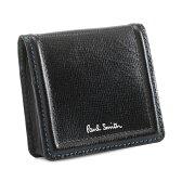 ポールスミス 財布 小銭入れ コインケース ブラック Paul Smith psc020-10 メンズ 紳士