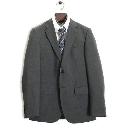 展示品 コムサイズム スーツ Mサイズ ストライプスーツ COMME CA ISM 灰(グレー) 4701sa16-04 メンズ 紳士