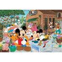 ジグソーパズル こどもジグソー ディズニー みんなでガーデニング DK-96-032【Disneyzone】