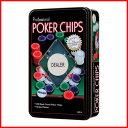 カードマーク ポーカーチップセット (5色 100枚入り)