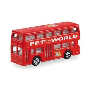 【全品ポイント増量!】トミカ No.95 ロンドンバス 【サック箱 ミニカー タカラトミー】 【RCP】