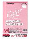 ナカバヤシ コピー&プリンタ用紙 カラータイプ B5 100枚入 HCP-5101-P