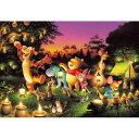 ジグソーパズル 1000ピース ディズニー 森のキャンドルパーティー D-1000-270【Disneyzone】