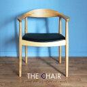 ザ・チェア The Chair ハンス・J・ウェグナー リプロダクト 北欧デザイナーズチェア 椅子 イス おうち時間を楽しもう♪ おしゃれイス ホワイトアッシュ 無垢材 【PPモブラー社のPP501/PP503ではございません。】肘付き オイルクリア TC-ASH