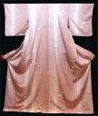Kimono - よよぎや 特選オリジナル仕立て上がり正絹小紋きもの NO4薄ふじ紫地に上品な一輪花新品送料無料10P27Sep14