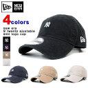 ニューエラ キャップ NEW ERA (ニューエラ) メンズ 刺繍キャップ 9 TWENTY ヤンキース ベースボール ミニロゴ 刺繍 キャップ 全4色 920..