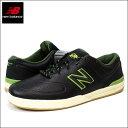 ニューバランス スニーカー NEW BALANCE NUMERIC (ニューバランス ヌメリック) メンズ レザースニーカー フェイクレザー PUレザー 靴 シューズ (BLACK ブラック) NM637BGN 【あす楽対応】