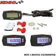 【正規品】KOSO Mini4 LEDタコメータージョグCセロー225セロー250WR250RWR250Xマジェスティ125チャンプCUXI100XT250XトリッカーSR400
