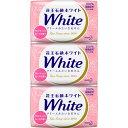 花王石鹸ホワイト アロマティック・ローズの香り 普通サイズ 85g×3コ