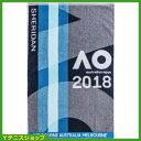 全豪オープンテニス 2018 オフィシャル ジムタオルメンズ オーストラリアンオープン【あす楽】